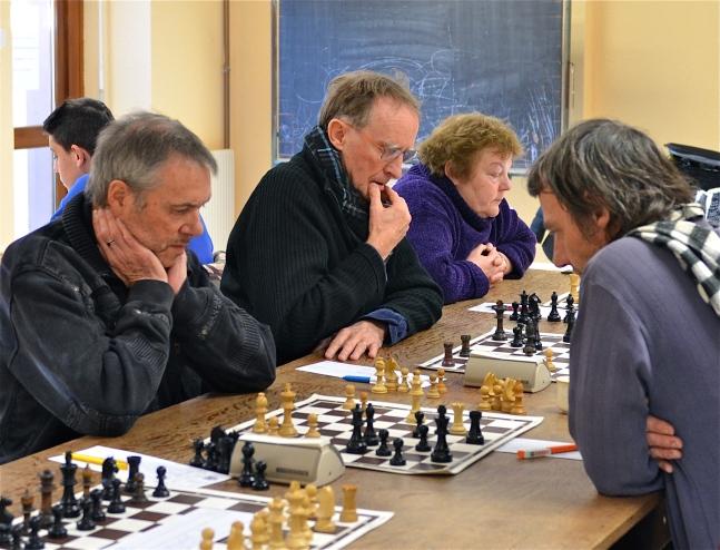 Paul, J.P., Danielle et Thierry Husser de Munster.