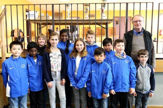 L'équipe de l'école Marcel Pagnol 2017.